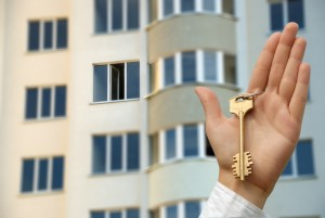 Висячий ключ от квартиры