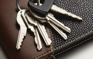 Кошелек и ключи