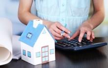 Расчет на калькуляторе и макет дома