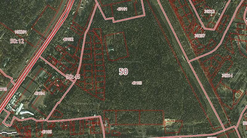 Карта земельного участка
