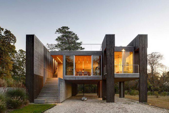 Интересный проект загородного дома