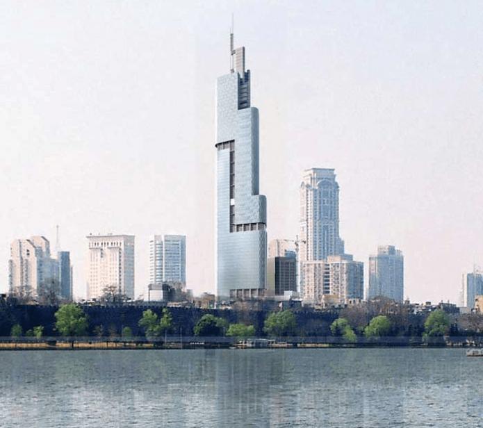 Финансовый центр Наньцзин Гринлэнд