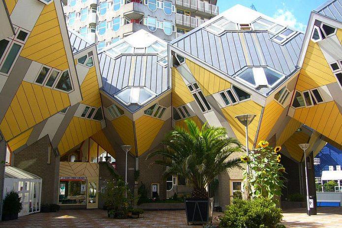 Кубические дома в Нидерландах