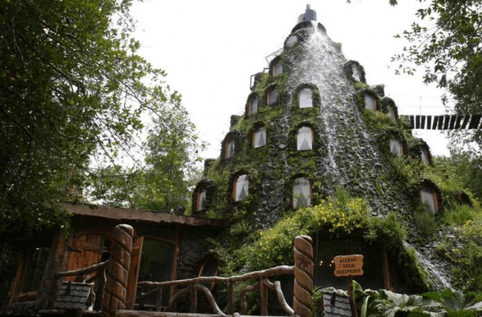 Волшебный горный домик в Чили