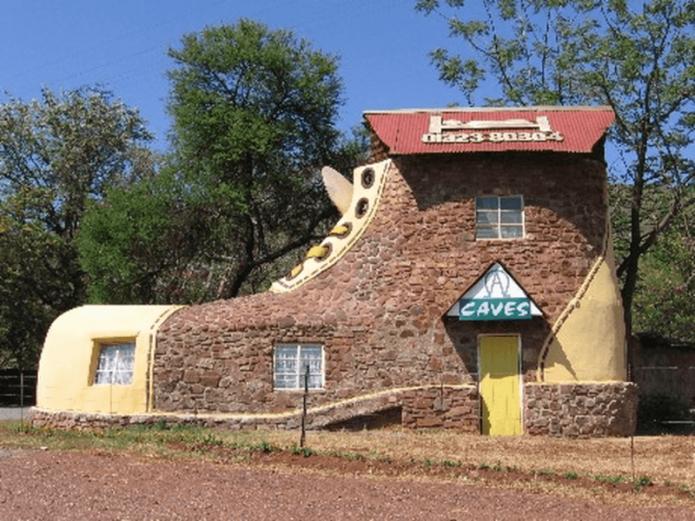 Дом-ботинок в Южной Африке