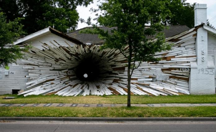 Дом «Инверсия» в США