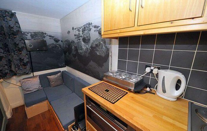 Самая маленькая квартира в Великобритании