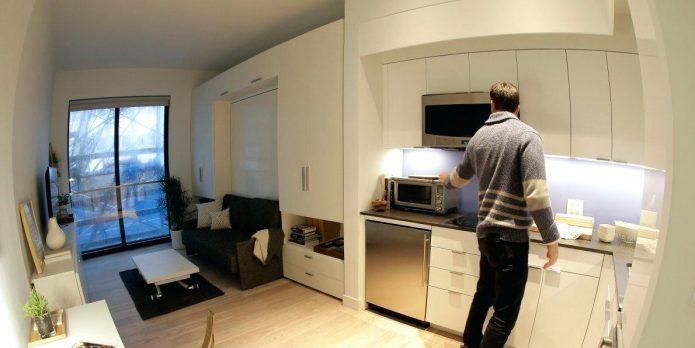 Самая маленькая квартира в мире