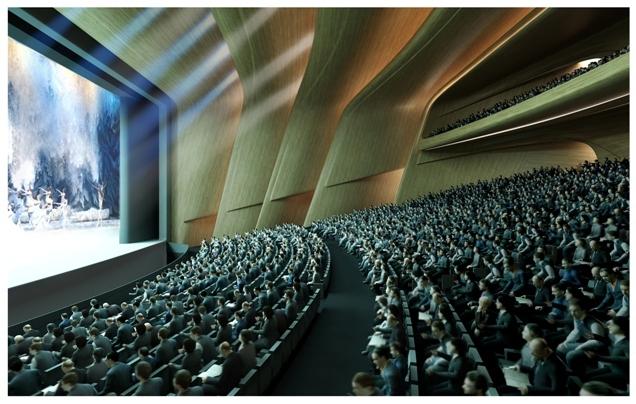 Театр в самом большом доме в мире