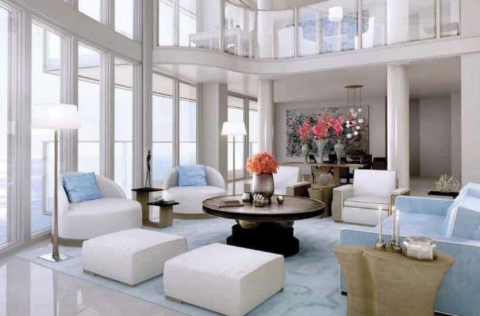 Самая дорогая квартира в мире: вид изнутри