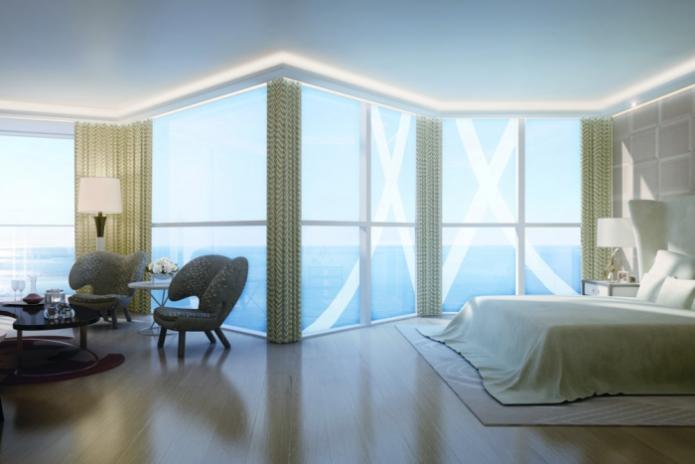 Одна из спален в самой дорогой квартире в мире