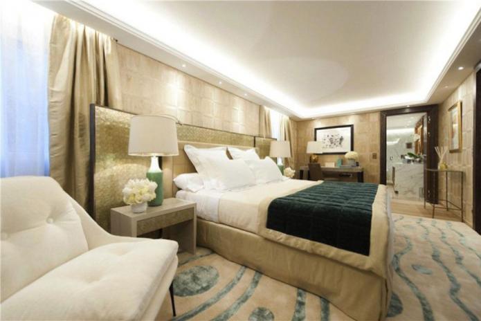 Спальня в самой дорогой квартире