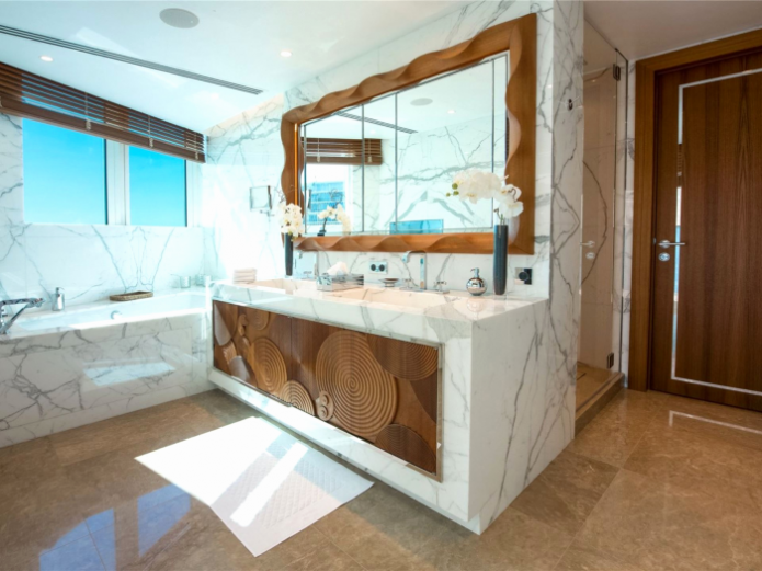 Ванна комната самой дорогой квартиры в мире