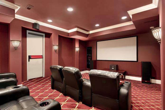 Домашний кинотеатр в самой дорогой квартире в мире