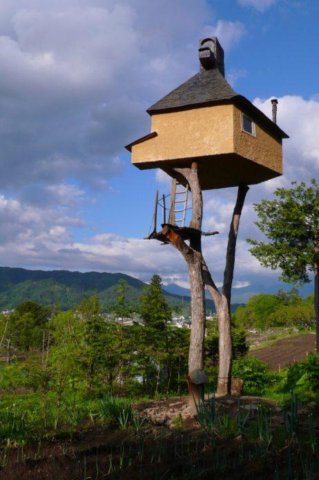 Японский дом на ножках