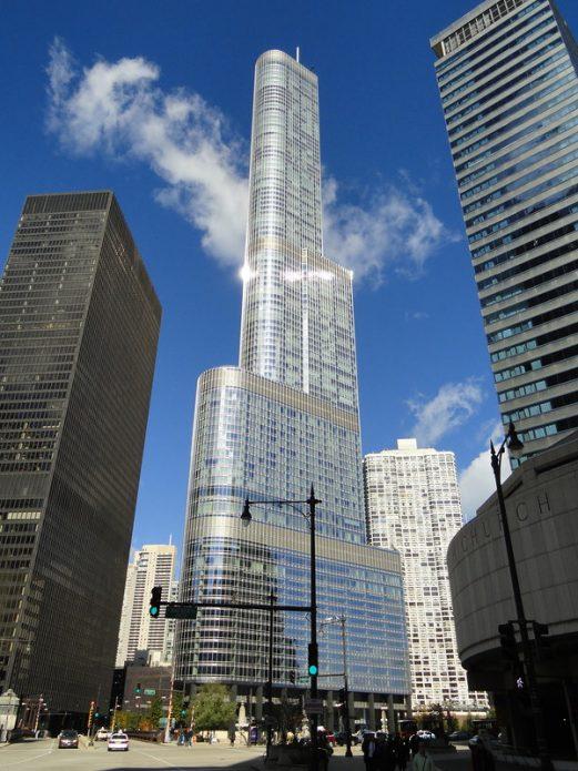 Международный отель и башня Трампа в Чикаго