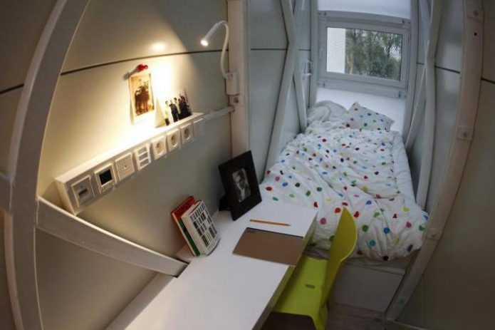 Самая маленькая квартира в Китае