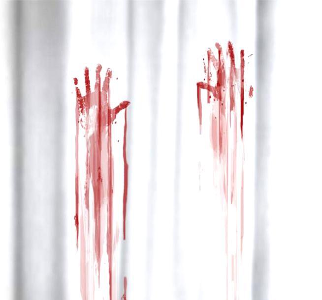 Кровывые отпечатки пальцев