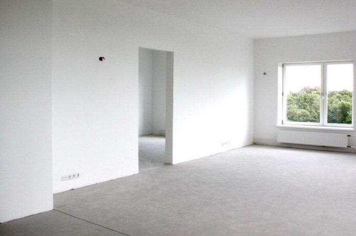 Квартира с предчистовой отделкой