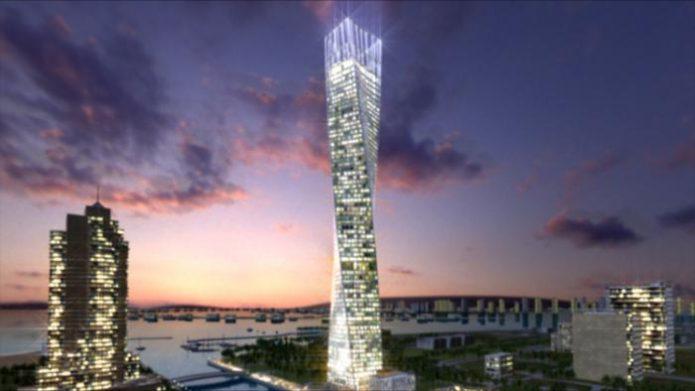 Infinity Tower в Дубаи