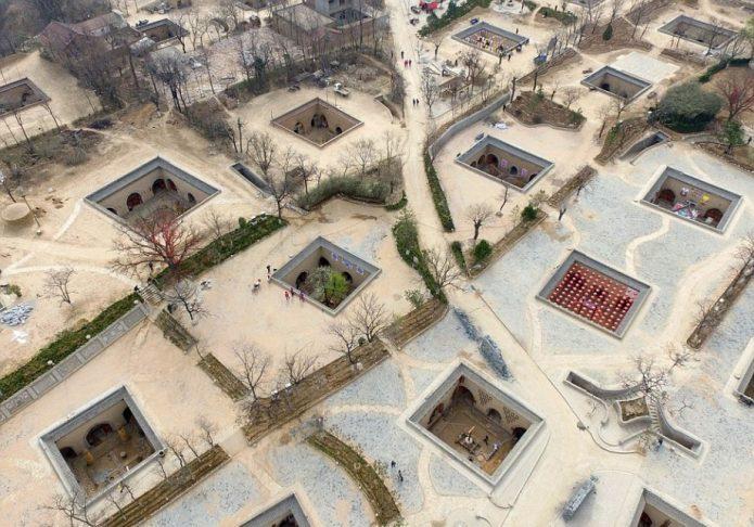 Необычные жилища китайцев