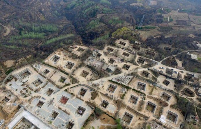 Китайские подземные дома