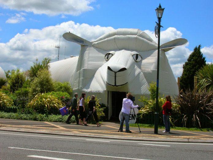 Дом в виде овцы