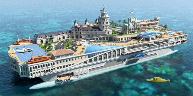 Передвижной остров Streets of Monaco