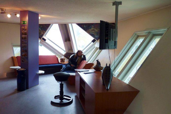 Кубические дома в Роттердаме, Нидерланды
