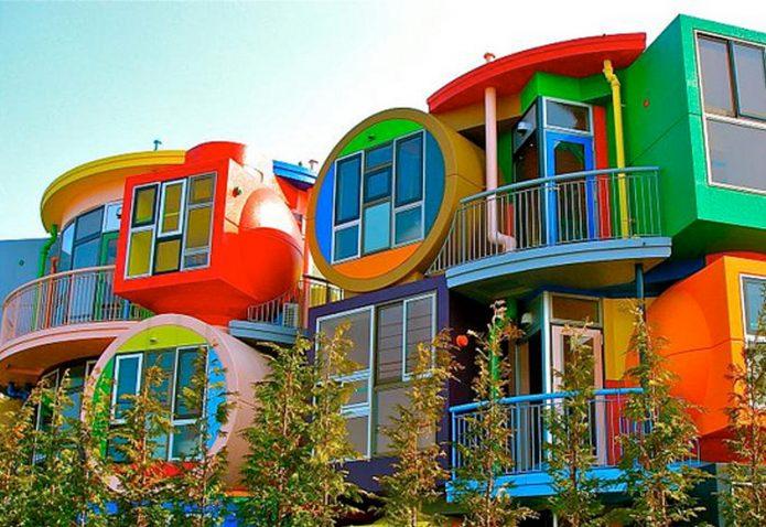 Удивительный дом в г. Матака, Япония