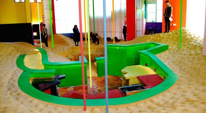 Внутреннее пространство Интерьер инновационного жилого комплекса Reversible-Destiny Lofts