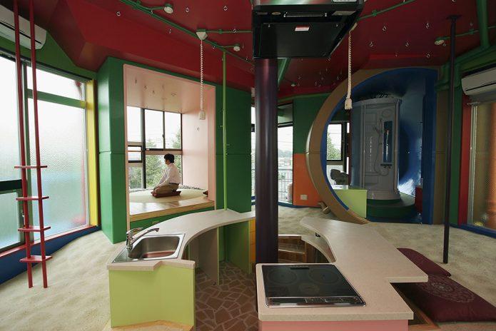 Дизайн помещения в инновационном жилом комплексе Reversible-Destiny Lofts