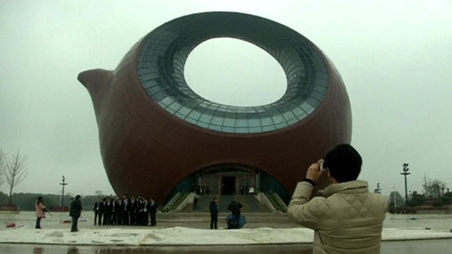 Уникальное творение китайских архитекторов