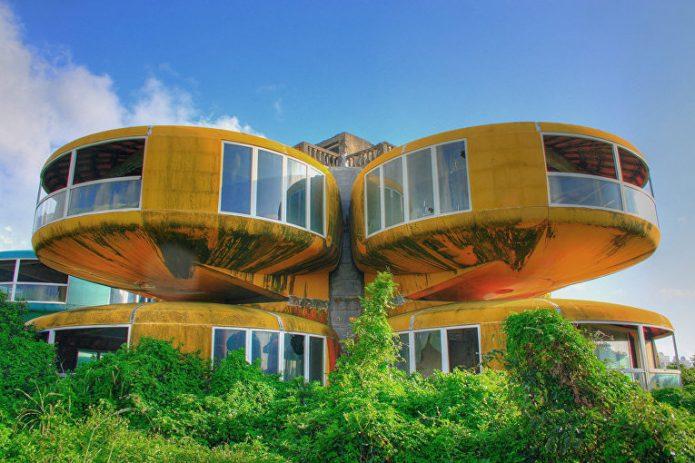Поразительный жилой комплекс в Тайване
