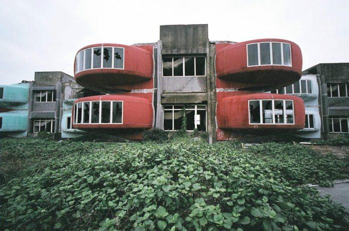 Футуристический посёлок в Саньчжи