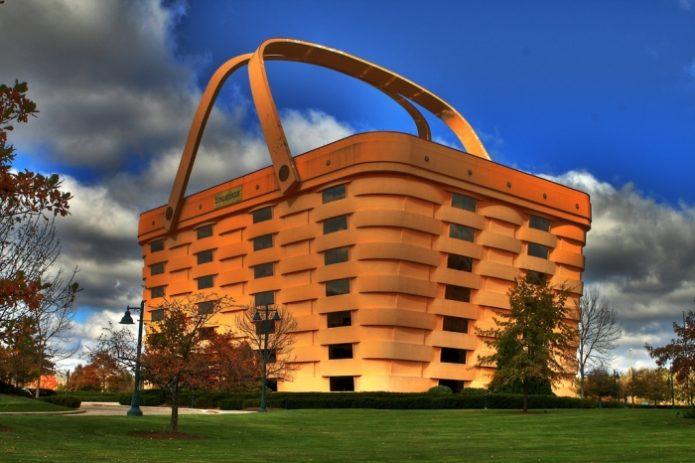 здание корзина в огайо сша