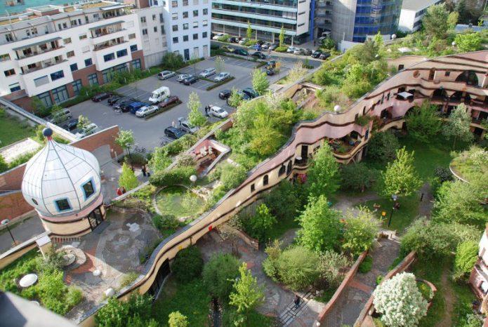 лесное спиральное здание дармштадт германия