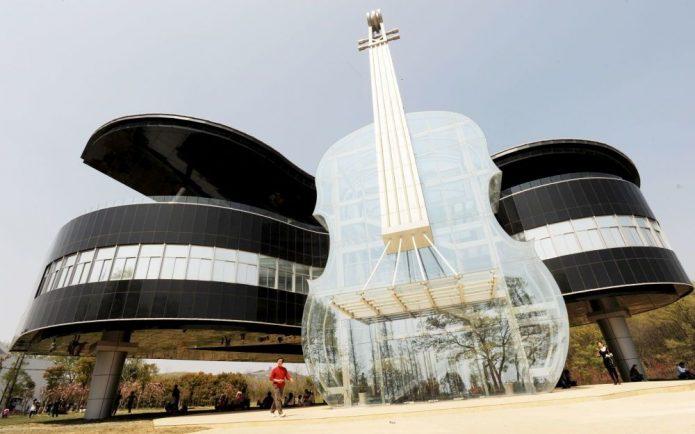 музыкальное здание хуайнань китай