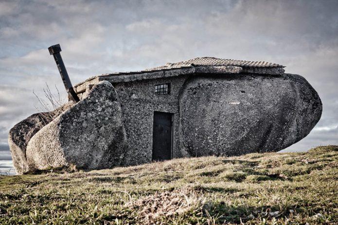 Каменный дом. Фафе, Португалия