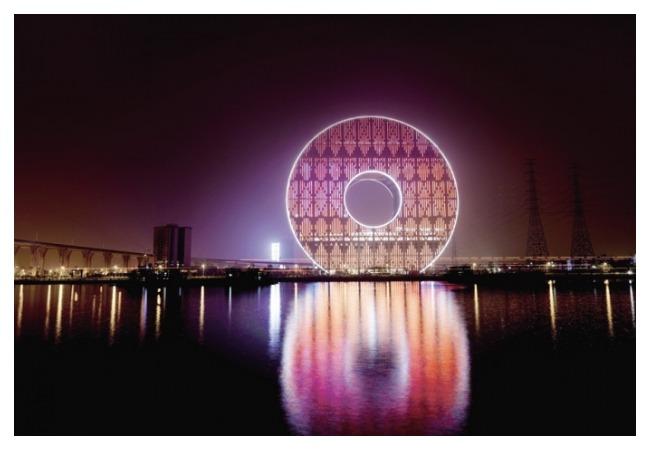 здание монета гуанчжоу китай