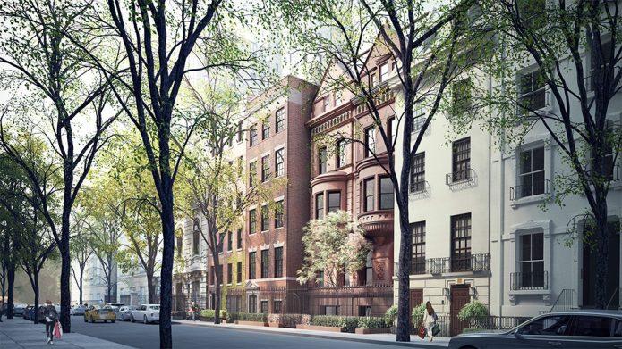 Фото трёх домов Романа Абрамовича в Нью-Йорке