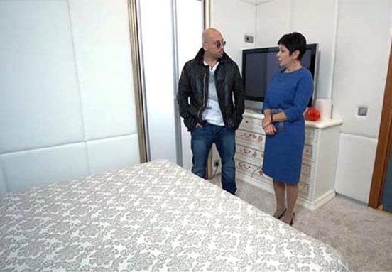 Наташа Барбье в квартире Дмитрия Нагиева
