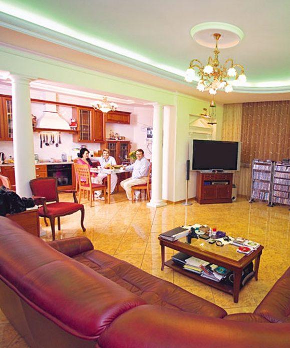 Квартира Николая Баскова