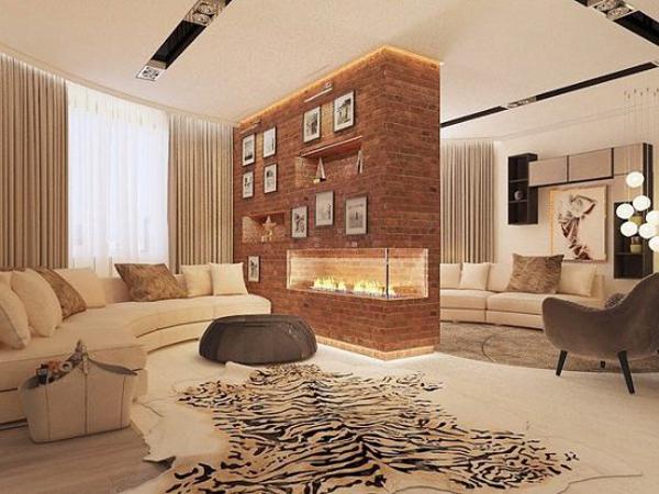 Квартира певицы Нюши