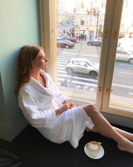 Вид из окна квартиры Харламова и Асмус