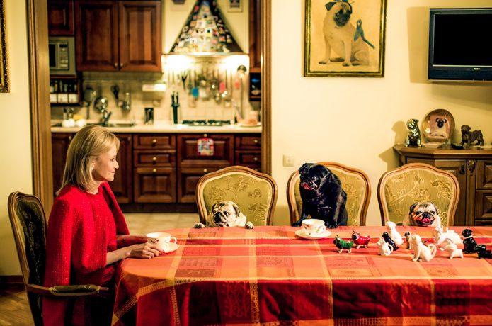 Обстановка дома Дарьи Донцовой