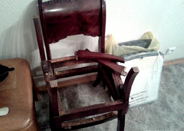 Как первоначально выглядела мебель Сергея Зверева