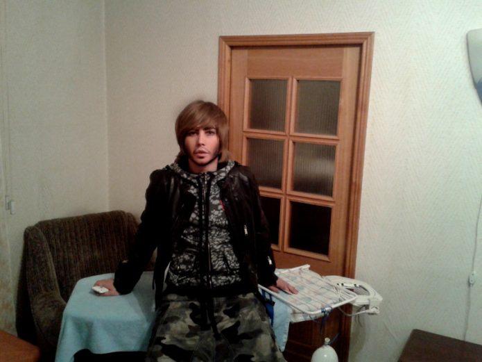 Большая квартира Сергея Зверева