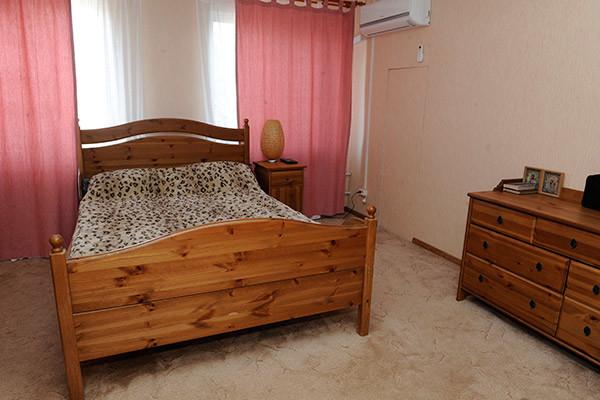 Спальная комната актёра