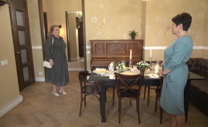 Старая гостинная Ирины Муравьёвой